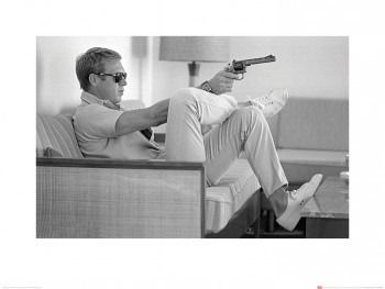 Time Life (Steve McQueen - Takes Aim) 50 x 70