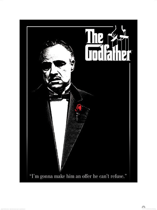 The Godfather (Red Rose)