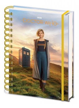 New Doctor Who Notebook