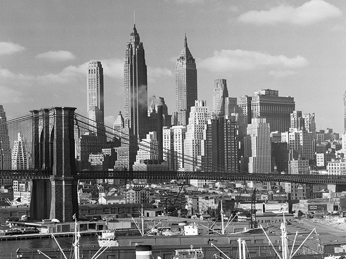 Time Life (Lower Manhattan Skyline 1948)
