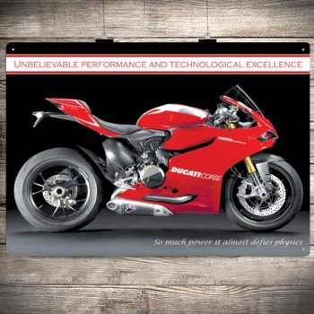 DUCATI 1199 PANIGALE R WALL SIGN