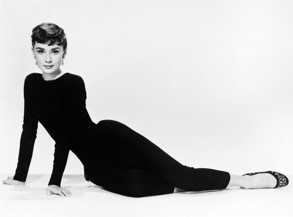 Audrey Hepburn - 60x80 Glass Wall Art