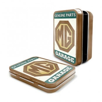MG GENUINE PARTS KEEPSAKE TIN