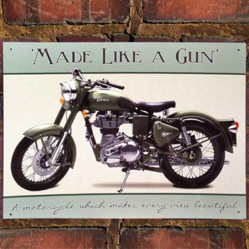 ROYAL ENFIELD BULLET EFI WALL SIGN