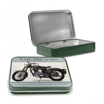 ROYAL ENFIELD BULLET EFI KEEPSAKE TIN