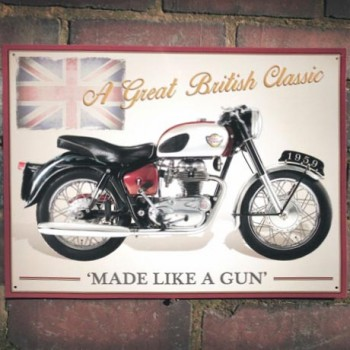 ROYAL ENFIELD CRUSADER SPORTS WALL SIGN