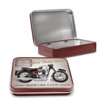 ROYAL ENFIELD CRUSADER SPORTS KEEPSAKE TIN