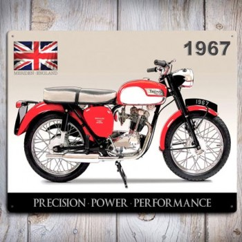 TRIUMPH TIGER CUB WALL SIGN