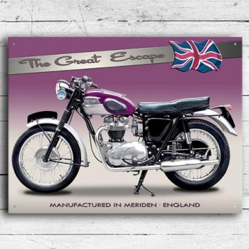 TRIUMPH TR6 TROPHY WALL SIGN