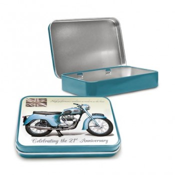 TRIUMPH TWENTY ONE 3TA KEEPSAKE TIN