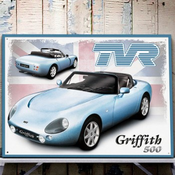 TVR GRIFFITH 500 WALL SIGN