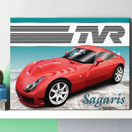 TVR SAGARIS WALL SIGN