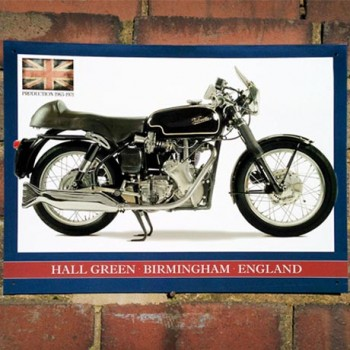 VELOCETTE VENOM THRUXTON WALL SIGN