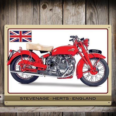 VINCENT TOURING RAPIDE WALL SIGN